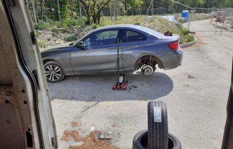 mobile tyre fitting job basingstoke 6